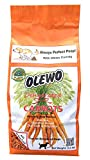 Olewo Dehydrated Carrots Digestive Dog Food Topper and Effective Dog Diarrhea Relief Non-GMO Product, 2.2 pounds