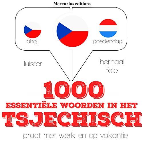 1000 essentiële woorden in het Tsjechisch cover art