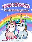 Libro de actividades de unicornios:: para niños de 4 a 8 años - Volumen 1