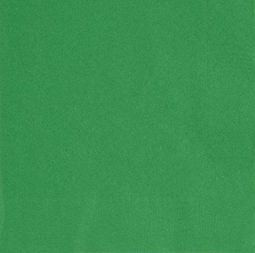 Unique Party 31862 - 16.5 cm Tovaglioli di Carta Verde Smeraldo, Confezione di 50