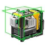 Dewalt DCE089D1G-QW DCE089D1G-QW-Láser autonivelante de 3 lineas de 360º-Incluye batería DW 10,8V...