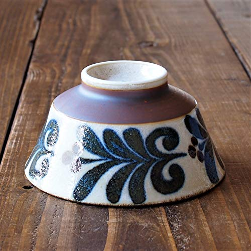 みのる陶器美濃焼南風反型茶碗風φ12.8×H6.5cm