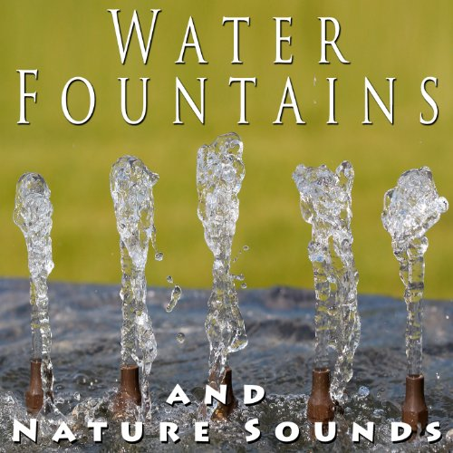 A Water Fountain, A Relaxing Waterfall