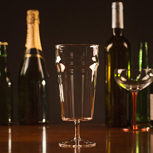 Thumbs Up Verre à bière avec Tige-Pinte-o-vin, 8 X 19,5 X 8 cm