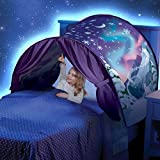 Kids Dream Bed Tents, Winter Woderland Pop Up Bed Tent for Kids, Magic Sleep Tent for Boys & Girls, Children's Tents, Foldable Play Tent Castle Playhouse, Christmas Birthday Gifts(Witer Wonderland)