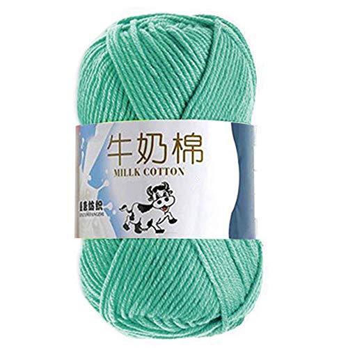 Haakgaren DIY hand breien dikke wollen trui dikke lijn kleurrijke gekamd zachte baby melk katoen naaien Fiber