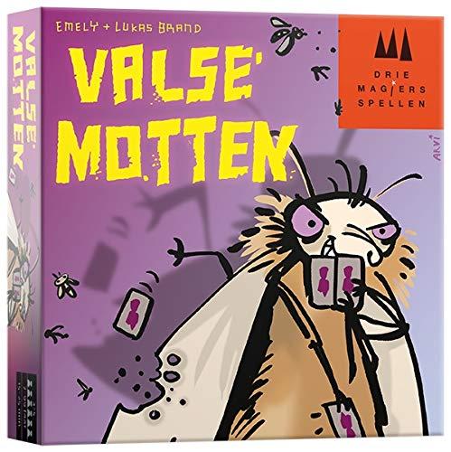 Drie Magiers Spellen 999-Mot01 Valse Motten Kaartspel Kaartspel, Alle Kleuren