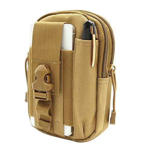DWSLY De múltiples Fines Camo Imprimir Tactical Molle Bolsos Bolsos Cinturón Cintura Mochila Militar Escuela Militar Paquete Bolsas al Aire Libre para Escalada al Aire Libre (Color : 2)