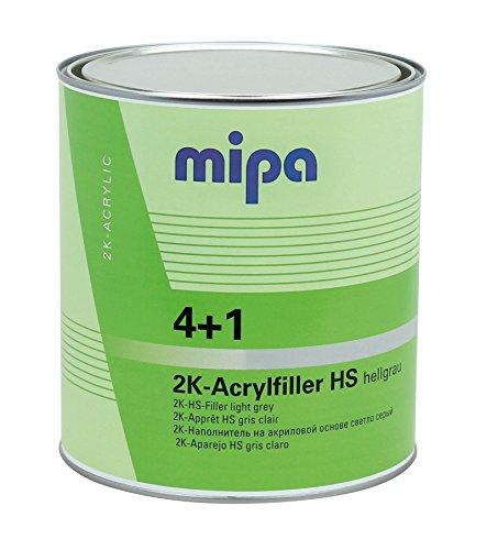 MIPA 4+1 Acrylfiller HS, hellgrau, 1Ltr.