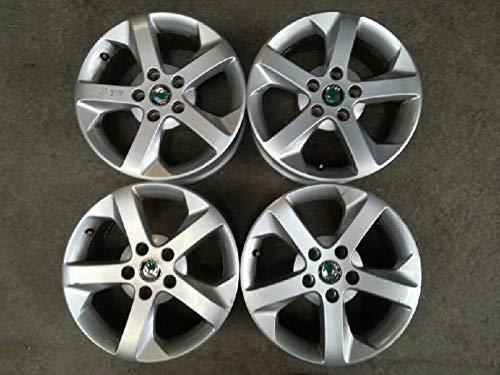 Llanta Jgo Aluminio Skoda Octavia Berlina (1z3) 6,5X16 ET50 5 TORN (usado) (id:delcp4325932)