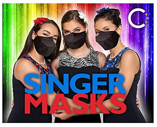 Singer's Vocal Mask Adult Mask for Singers, Performers, Teachers, Directors for Talking & Breathing Easily (Adult)