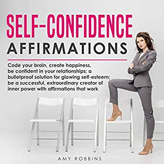 Self-Confidence Affirmations audiobook cover art