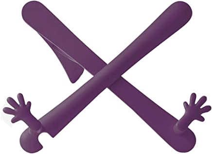 The Hands Stand - Portable Book/Tablet Holder (Aubergine)