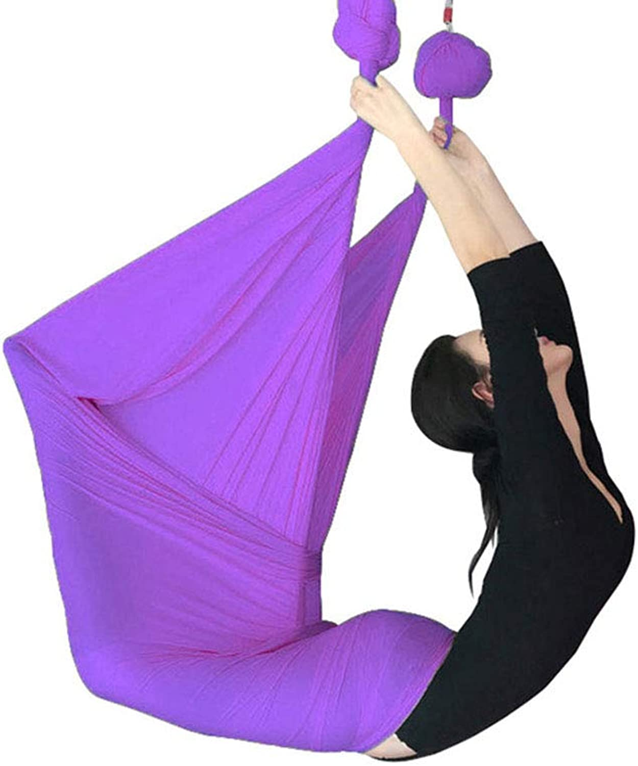 Aerial yoga Hammock Aerial Yoga Hammock Yoga Ingreened Exercise Accessories AntiGravity Yoga Swing Yoga Ingreened Tools Aerial Yoga Set Indoor HighAltitude Yoga Hammock, LoadBearing About 500KG