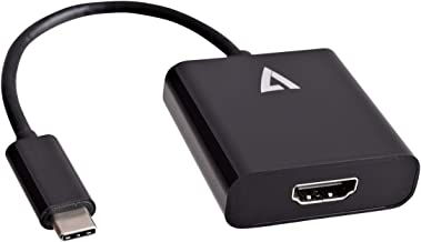 V7 USB-C (m) to HDMI (f) Adapter - Black - V7UCHDMI-BLK-1N
