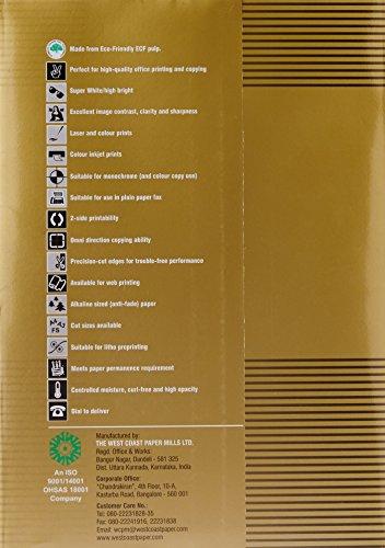 Copy Gold Copier Paper - A4, 75 GSM, 500 Sheets, 1 Ream