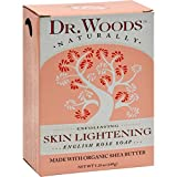 Dr. Woods Bar Soap Skin Lightening English Rose, 5.25 Ounce by Dr. Woods