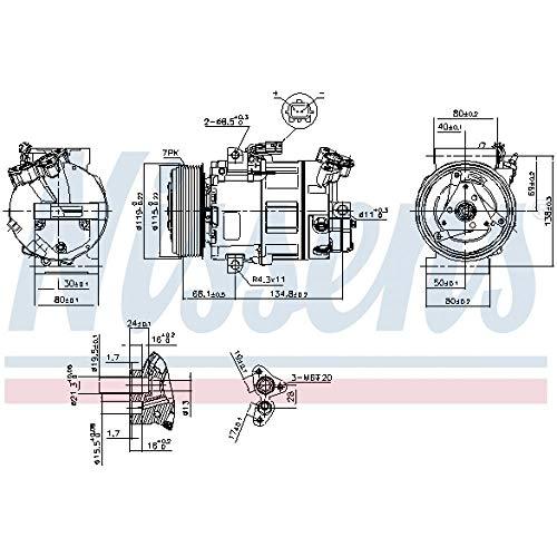 Nissens 89313 Clima compressori