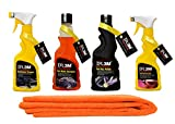 DR3M Automative Car Combos Microfiber Cleaning Cloth + AUTOMATIVE CAR WASH Shampoo +
