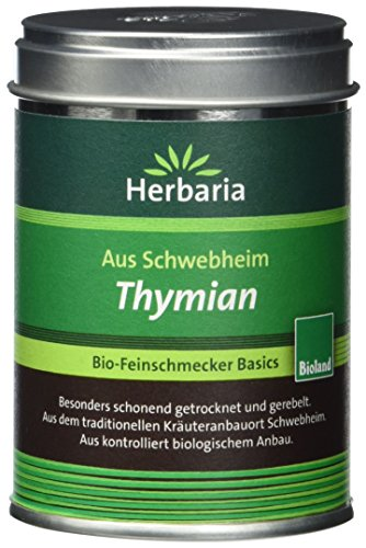 Herbaria Thymian gerebelt, 1er Pack (1 x 20 g Dose) - Bio