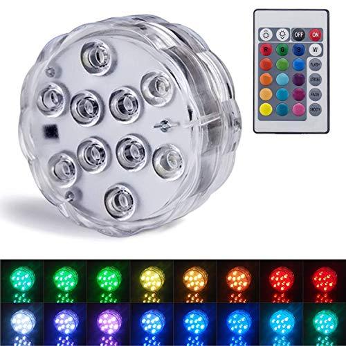 Luces sumergibles Luces LED sumergibles luces subacuáticas