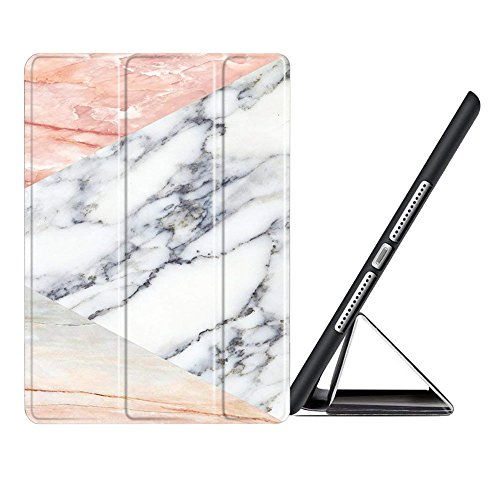 MiusiCase iPad Mini 1 2 3 Case - Marble Pattern Smart Case Cover Tri-Fold Ultra Slim Stand Case Cover with Auto Wake/Sleep Function For iPad Mini 1 2 3 Generation.(4)