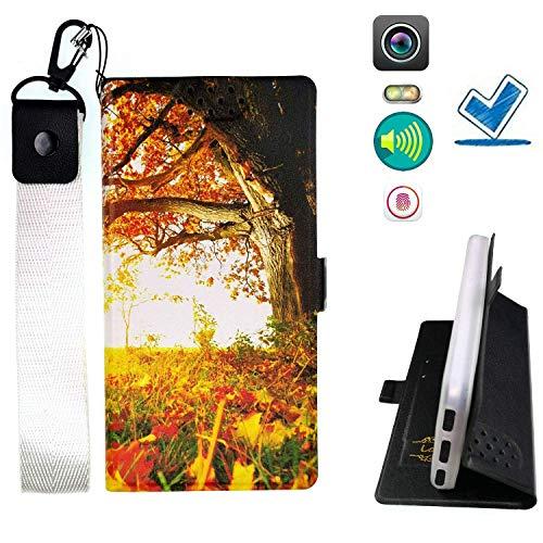 Huayijie HYJPT Hülle für Microsoft Lumia 940 Hülle Flip PU-Leder + Silikon Cover Hülle Fest ZC