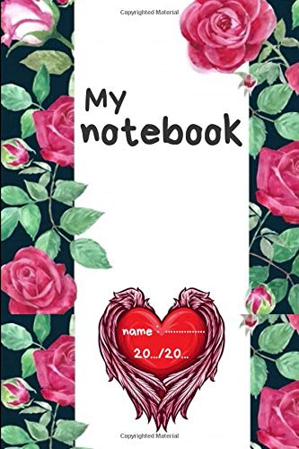 My notebook: Flowers Journal (Notebook, Diary) paperbook! for woman !  ,[There is a special offer, read the description]