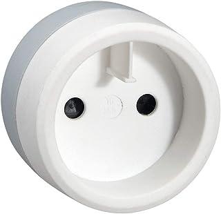 C2G European to US Standard 2P Adaptor - White