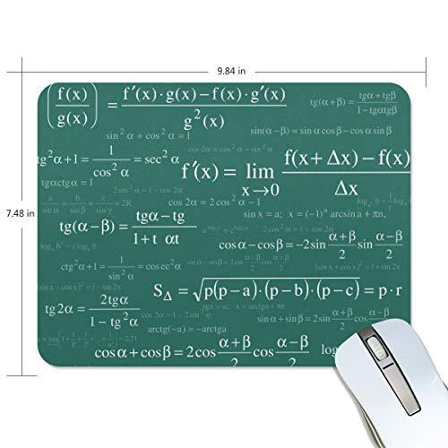 Lupinz Mauspad für Mathematik und Physikalische Formeln für Gaming Sensoren für maximale Kontrolle