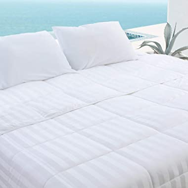 Bamboo Duvet Comforter by Cariloha - 100% Viscose from Bamboo - All Season Duvet Comforter - 1-Year Limited Quality Warranty (Queen)