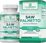 Premium Saw Palmetto (Non-GMO & Gluten Free) –...