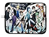 Brand4 Servamp Anime Laptop Sleeve Bag w/Mousepad Surface - Fits 15 Inch Notebook Anime Computer Bag Laptop Sleeve Tablet Case All Laptops & Tablets