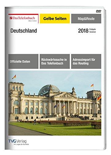 Das Telefonbuch Gelbe Seiten Map&Route Frühjahr/Sommer 2018