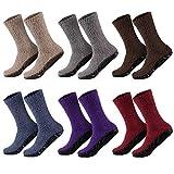 1 par de calcetines muy suaves para mujer – comodidad óptima – con suela de goma – ideal para casa – 35 – 38 o 39 – 42 azul 39-42