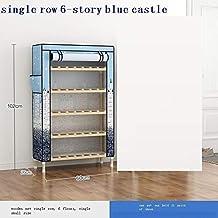 XDDDX Simple Shoe Cabinet Dustproof Multi-Layer Home Economical Indoor Good-Looking Door Storage Artifact Wooden Narrow Sh...
