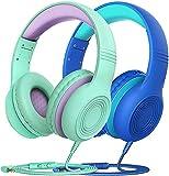 Kinder Kopfhörer, Kopfhörer Kinder mit 85/94 dB Lautstärkeregler Schalter, Over Ear Kinder...
