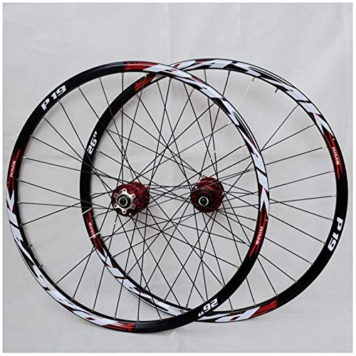 "VPPV 26 inch 27.5 ""29ER Mountain Bicycle Wheelset Aluminum Alloy MTB Cycling Wheels Disc Brake for 7/8/9/10/11 Speed (Size : 29 inch)"
