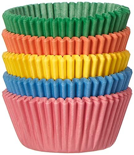 PME - Pirottini di Carta per Cupcake e Muffin Piccoli, Color Pastello, 100 Pezzi