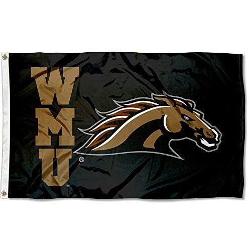Western Michigan Broncos WMU University Large College Flag