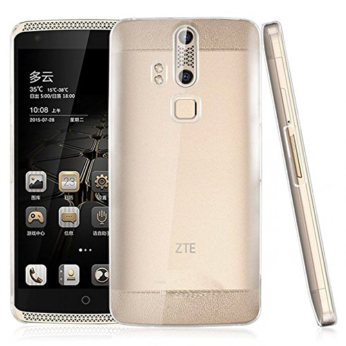 Heartly Transparent Clear Crystal Hot Thin Hard Back Case Cover for ZTE Axon 7 / Axon 2 – Crystal View