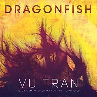 Dragonfish audiobook cover art
