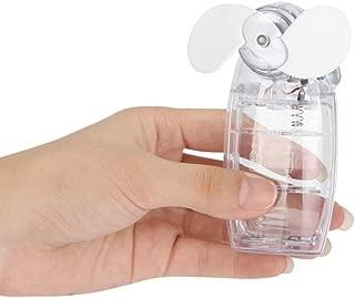 Portable Handheld Mini Fan,Tuscom Mini مكيف هواء ذو جزئين مبرد بطارية مروحة