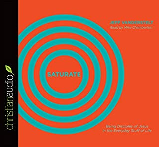 Saturate audiobook cover art