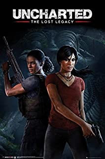 Uncharted: The Lost Legacy - Gaming Poster/Print (Game Cover/Key Art) (Size: 24 inches x 36 inches)