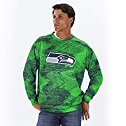 Officially licensed product of the National Football League Support your favorite team in this lightweight men's french terry crewneck sweatshirt with a high quality, screen print team logo Show your spirit on gameday wearing this cozy, long sleeve p...