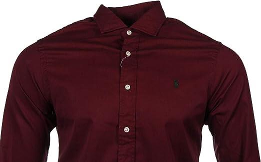 Ralph Lauren Camisa Oxford de ajuste delgado para hombre