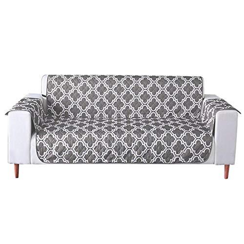 Funda impermeable para sofá reversible para mascotas, funda de sofá para perros, sala de estar con funda suave y lavable, protector para muebles de sofá, protección contra niños y mascotas
