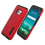 Incipio Protective Case for HTC 10 - Retail Packaging - Red / Black