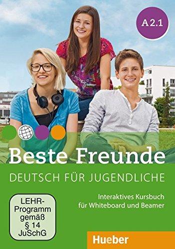 Beste Freunde A2/1: Deutsch für Jugendliche.Deutsch als Fremdsprache / Interaktives Kursbuch für Whiteboard und Beamer – DVD-ROM